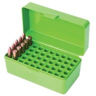 MTM RIFLE FLIP-TOP 50rd 22H/30M1/218B GREEN 24/CS