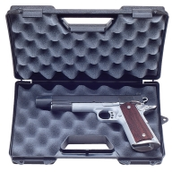 "MTM PISTOL CASE REVOLVER 6"" BARREL/BLACK 6/CS"