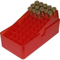 MTM PISTOL SLIP-TOP 50rd 41M-44M/CLEAR-RED 24/CS