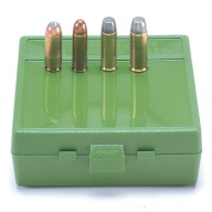 MTM PISTOL FLIP-TOP 64rd 50AE/475/500/GREEN 24/CS