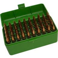 MTM RIFLE FLIP-TOP 50rd 22250-308/GREEN 24/CS