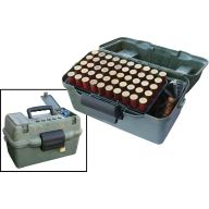 MTM SHOTSHELL TOP HANDLE 12&20/ga 2-TRAYS/CAMO 6/C