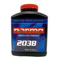 NORMA POWDER 203-B 1LB (RIFLE) 10/CS