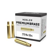 Nosler Brass 270 Winchester Unprimed Box of 50
