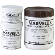BROWNELLS MARVELUX CAST FLUX 1 POUND JAR 12/CS
