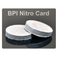 "BPI MAXI NITRO CARD 24ga .125""/.589""-Dia. 500/BAG"