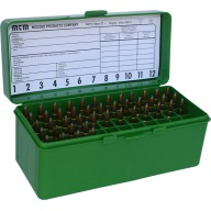MTM RIFLE FLIP-TOP 60rd 22250-308/GREEN 12/CS