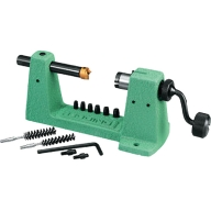 REDDING CASE TRIMMER KIT w/UNIV. COLLET/6-PILOTS