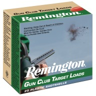 REMINGTON GUN CLUB 12ga 2.75d 1oz 1185fps #8 250/cs