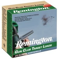 REMINGTON GUN CLUB 12ga 3 DRAM 1-1/8 1200fps #7.5 250/cs