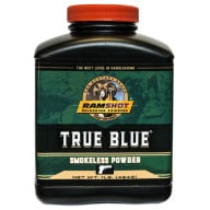 RAMSHOT TRUE-BLUE 1LB POWDER(PISTOL)(1.4c)10/CS