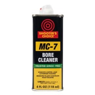 SHOOTER'S CHOICE MC-7 BORE CLEAN/CONDIT 4oz GLASS JAR 12/CS