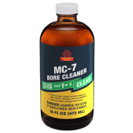 SHOOTER'S CHOICE MC-7 BORE CLEAN/CONDIT 16oz GLASS BOTTLE 4/CS