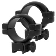 "SIMMONS RINGS 1"" MEDIUM MATTE (WEAVER STYLE)"