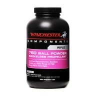 WINCHESTER POWDER 760 1LB (1.4c) 10/CS
