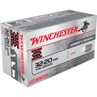 WINCHESTER AMMO 32-20 WINCHESTER SUPR-X 100gr LEAD-FP 50/bx 10/cs