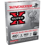 "WINCHESTER SLUG 410ga 3"" RIFLED 1/4oz 1800fps 5/bx 50/cs"