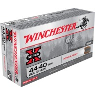 WINCHESTER AMMO 44-40 WINCHESTER SUPR-X 200gr SP 50/bx 10/cs