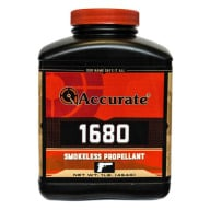 ACCURATE 1680 8LB POWDER (1.4c) 2/CS