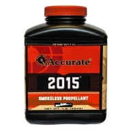 ACCURATE 2015 8LB POWDER (1.4c) 2/CS