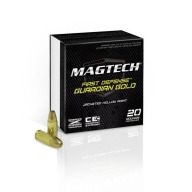 MAGTECH AMMO 9MM+P 115gr JHP GUARD-GOLD 20/b 50/c