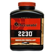 ACCURATE 2230 8LB POWDER (1.4c) 2/CS