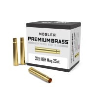 Nosler Brass 375 H&H Magnum Unprimed Box of 25