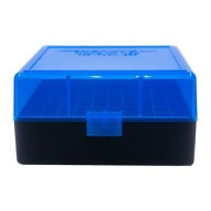 BERRY 222/223 HINGED-TOP BOX 100-ROUND BLUE 50/cs