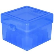 "BERRY 12ga to 3.5"" HINGED TOP BOX 25-RND BLUE 50/cs"