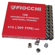 FIOCCHI PRIMER 209 SHOT- SHELL 1000/BOX