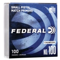 FEDERAL PRIMER SMALL PISTOL 1000/BOX