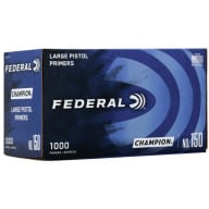 FEDERAL PRIMER LARGE PISTOL 1000/BOX