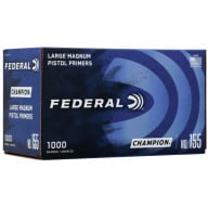 FEDERAL PRIMER LARGE PISTOL MAGNUM 1000/BOX