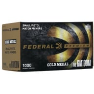 FEDERAL PRIMER SMALL PISTOL MATCH 1000/BOX