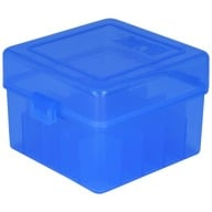 "BERRY 20ga to 3"" HINGED- TOP BOX 25-RND BLUE 50/cs"
