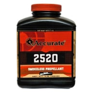 ACCURATE 2520 8LB POWDER (1.4c) 2/CS