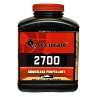 ACCURATE 2700 8LB POWDER (1.4c) 2/CS