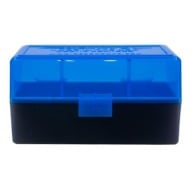 BERRY 222/223 HINGED-TOP BOX 50 ROUND-BLUE 50/cs