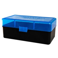 BERRY 45-70/SIMILAR HINGE TOP BOX 50-RND BLUE 30/cs