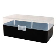 BERRY 45-70/SIMILAR HINGE TOP BOX 50-RND CLEAR 30/c