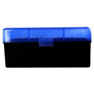 BERRY WSSM/500 S&W HINGED TOP BOX 50-RND BLUE 50/cs