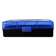 BERRY 454/50AE HINGED-TOP BOX 50-ROUND BLUE 50/cs