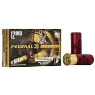 "FEDERAL SLUG 12ga 2.75"" MAXd 1oz HP-RIFLED DP 5/b 50/c"