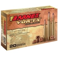 BARNES AMMO 7MM REMINGTON MAG 140gr TTSX-BT 20/bx 10/cs