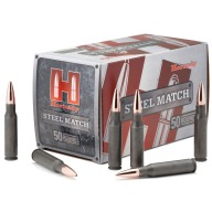 HORNADY AMMO 223 REMINGTON 55gr HP STEEL CASE 50/BX 10/CS