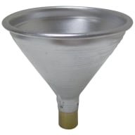 SATERN ALUM POWDER FUNNEL 22-30cal UNIV STATIC-FREE