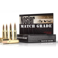 NOSLER AMMO 223 REMINGTON 60gr BT MATCH 20/bx 20/cs