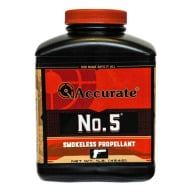 Accurate No. 5 Smokeless Powder 1 Pound