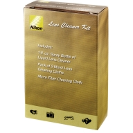 NIKON LENS CLEANER KIT w/ SPRAY AND CLOTHS