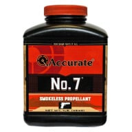 Accurate No. 7 Smokeless Powder 1 Pound